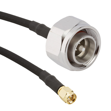 LMR-240 cable assembly 4.3-10 male to SMA male coax