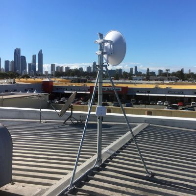 AFX installed on GC76 roof mast on the Gold Coast
