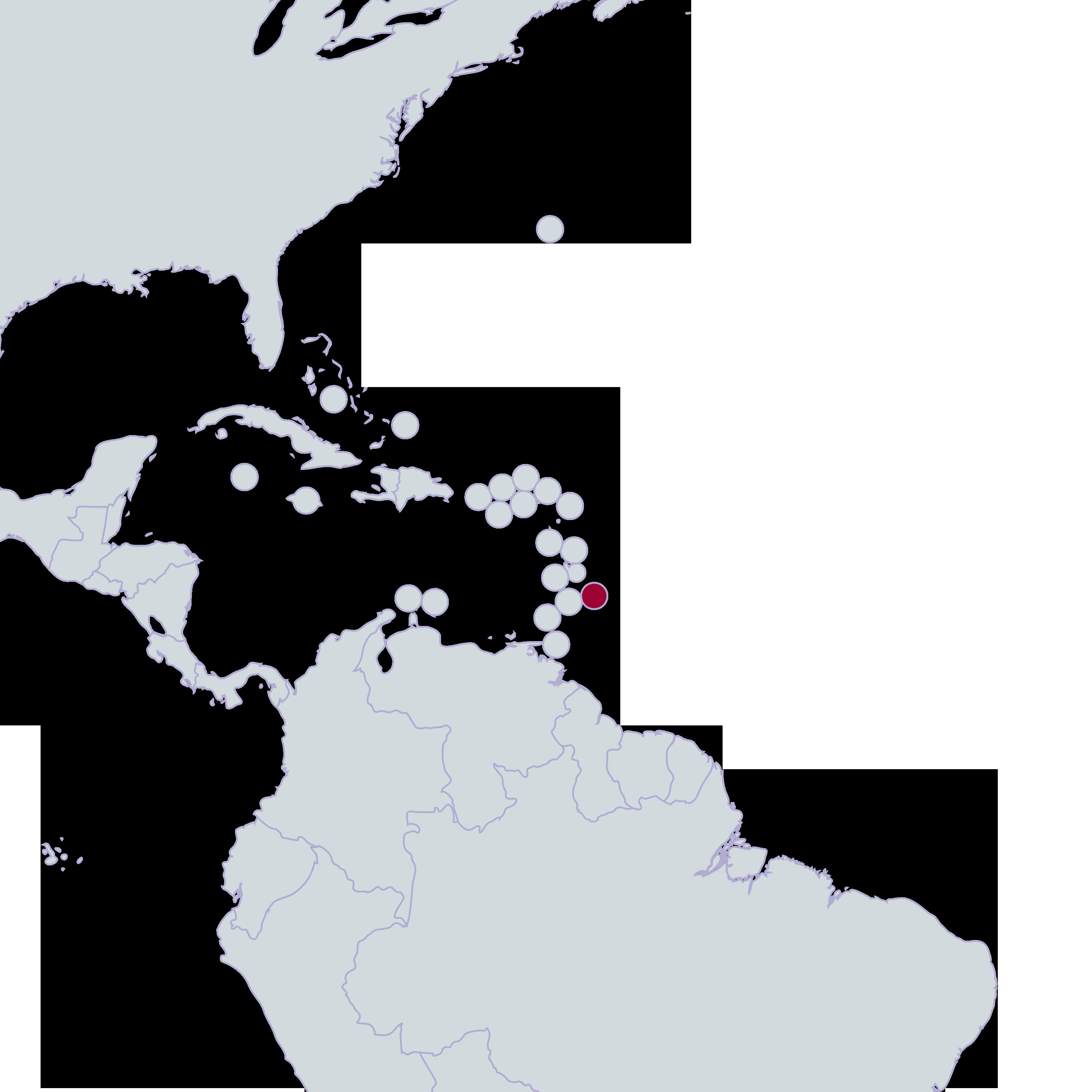 Barbados R Spectrum